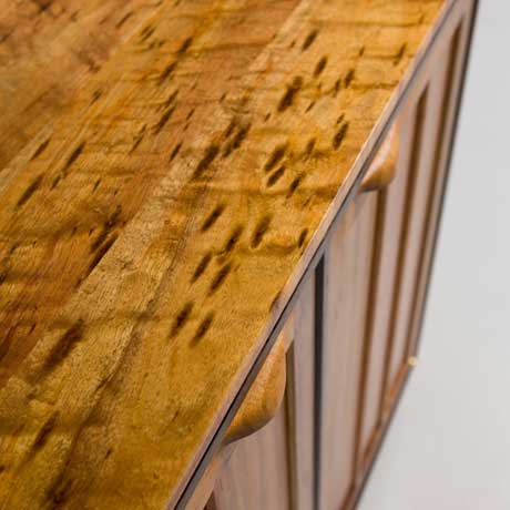 Fenella's Sideboard in blackwood and wenge