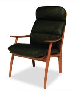 Werriwa Single Lounge Chair in Blackwood.