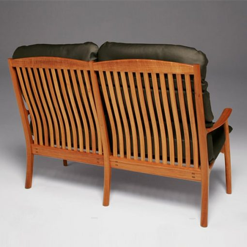 Werriwa double lounge chair in blackwood