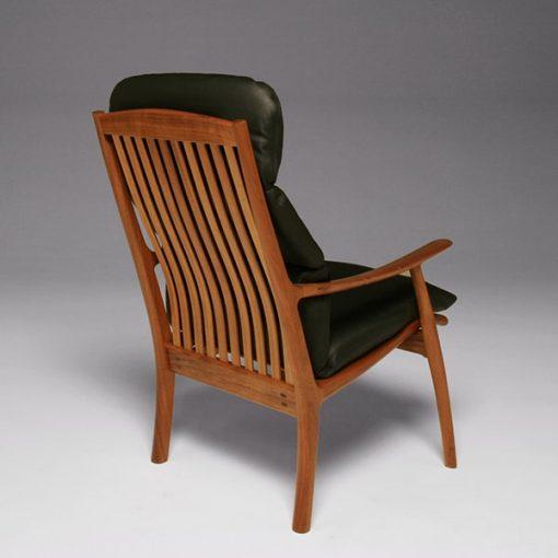 Werriwa Single Lounge Chair in Blackwood.