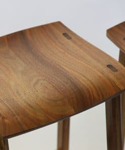 Wave Bar Stool in Blackwood