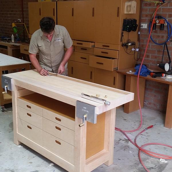 Bayley custom workbench