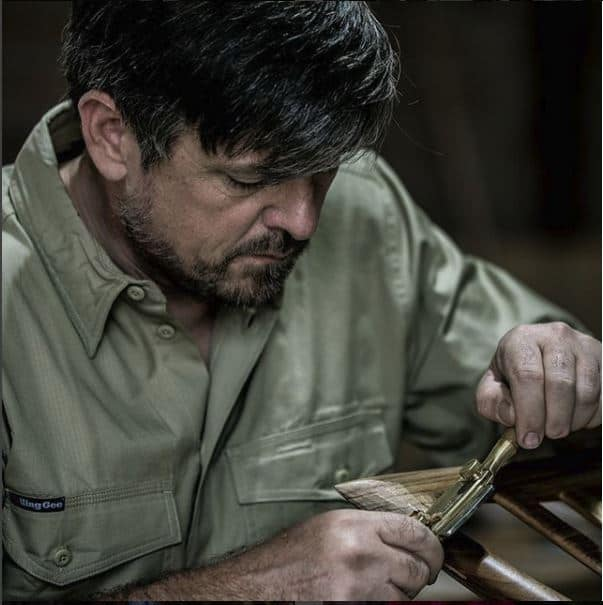 Evan Dunstone woodworker