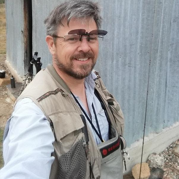 Australian craftsman Evan Dunstone