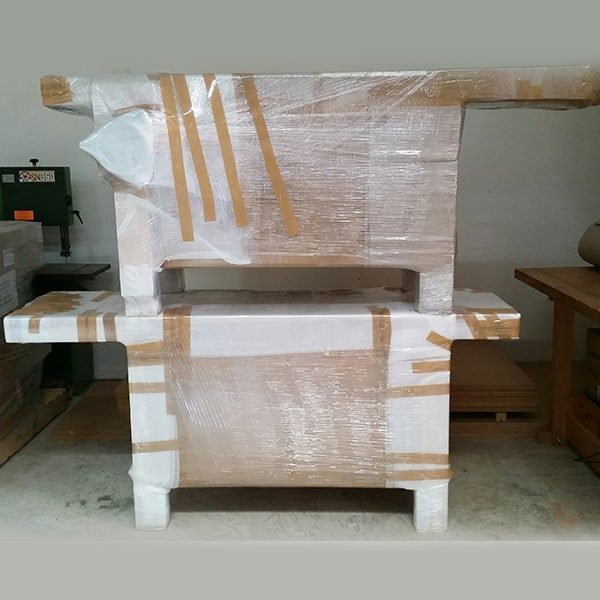 Two Roubo work benches
