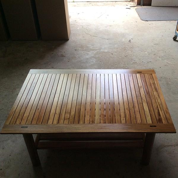 Watershed Coffee Table in blackwood