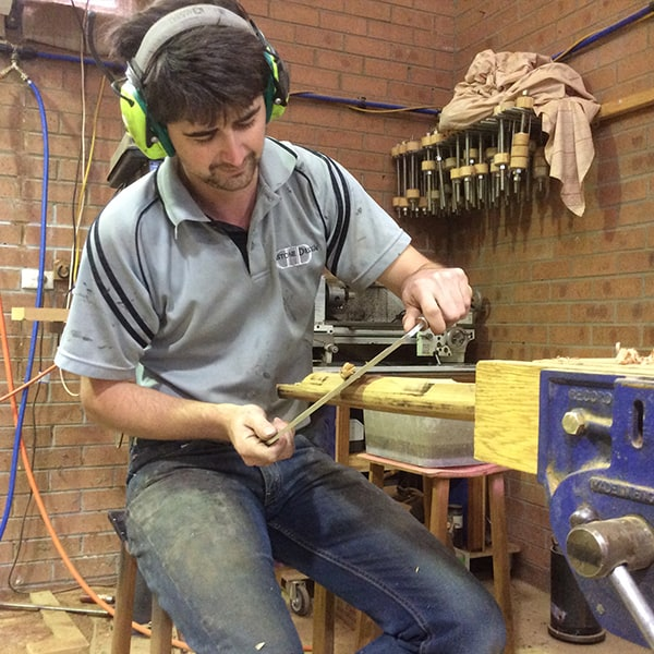 Alex MacFarlane at work