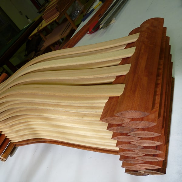 Clearwater Chair slats and rails