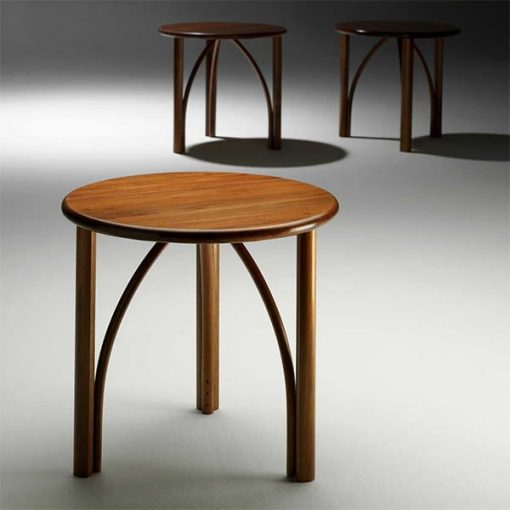 Confluence Occasional tables in blackwood