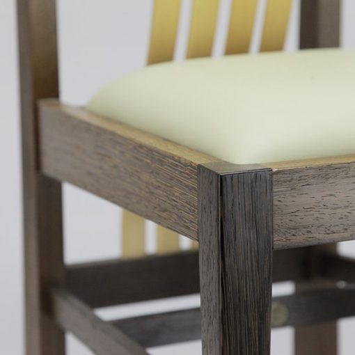 Fallingwater Dining chair in wenge and rock maple