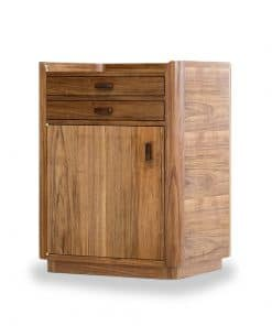 Gundaroo bedside table in blackwood and gidgee