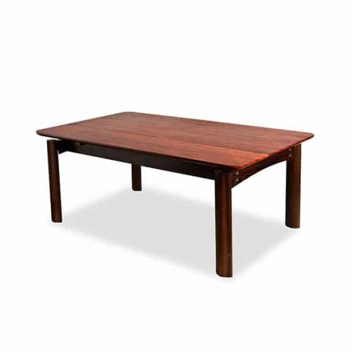 Jindabyne Coffee Table in red gum with wenge and rock maple detailing.