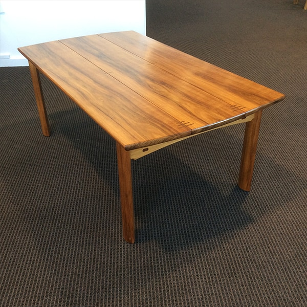 A Jindabyne Coffee Table in blackwood with Wenge detailing.