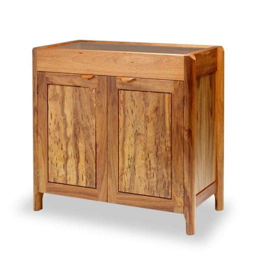 Memory Cabinet in birdeye Victorian blackwood