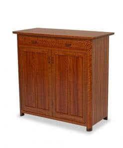 Riverstones Cabinet in highly figured river red gum and rock maple