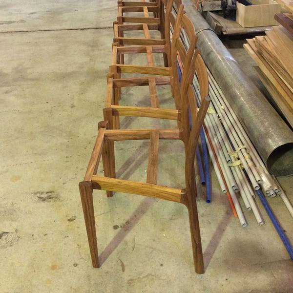 Tamar Chairs being made