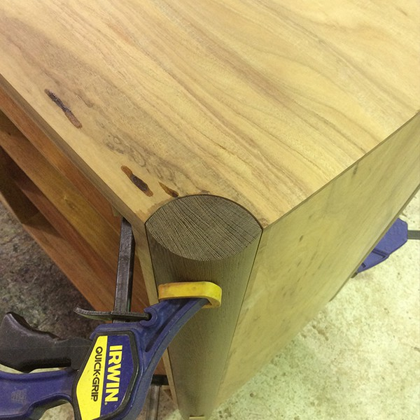 Tonks sideboard in blackwood