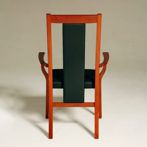 Seren Highback Carver Chair Fully Upholstered
