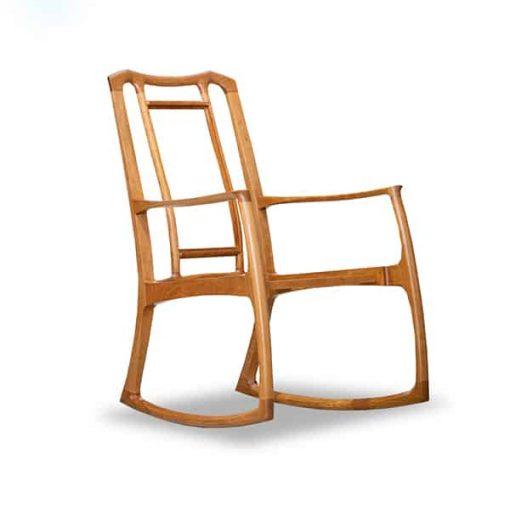 Cascade rocking chair in American cherry
