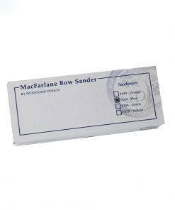 MacFarlane Bowsander abrasive