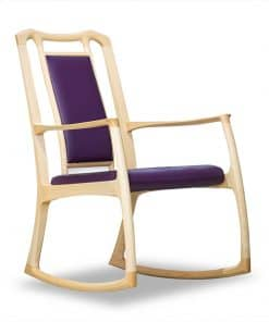 Cascade rocking chair in Queensland Silver Ash