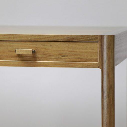 The Gundaroo desk in blackwood, rock maple and silky oak