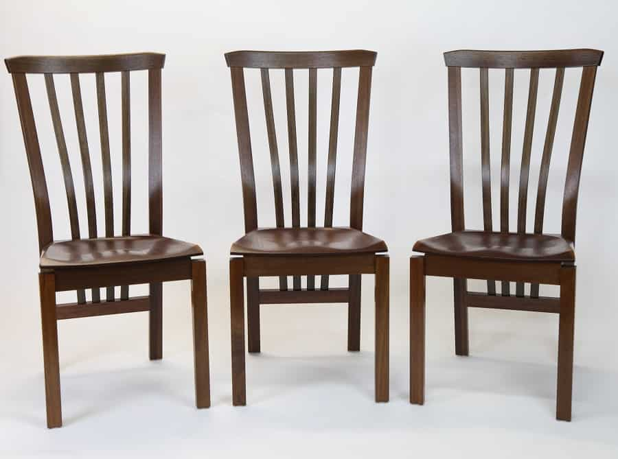 Three Nick Hill chair reproductions