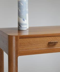 Mindaroo Side Table in jarrah, red gum and rock maple