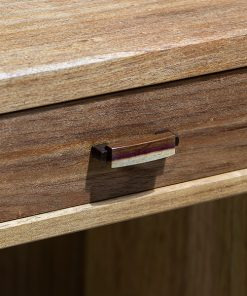 April Desk in blackwood, rock maple and gidgee