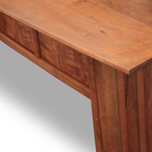 The Corrugated Desk in fumed myrtle
