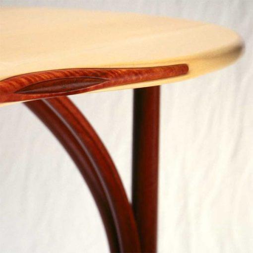 Tripod Desk in rockmaple, red gum and gidgee