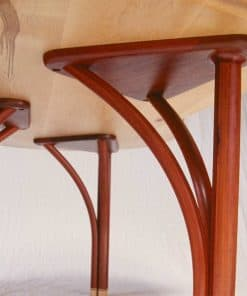 Tripod Desk in rockmaple, red gum and gidgee