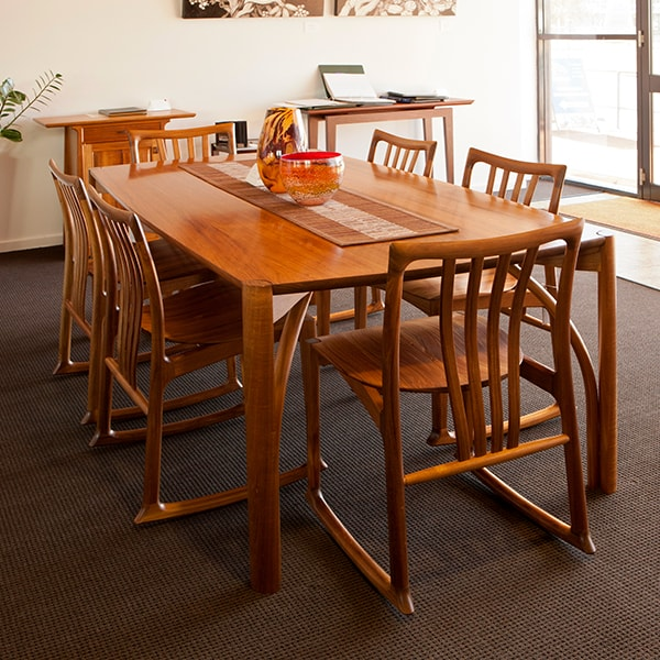 Seren Table with Cataract rockers